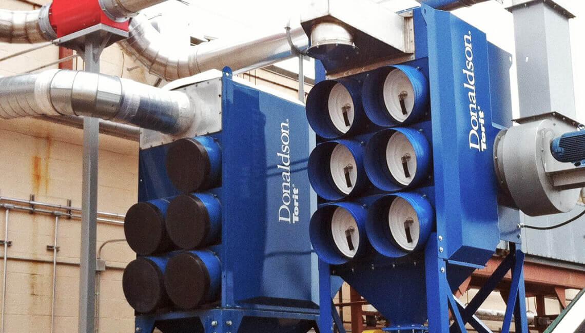 filtrirna naprava donaldson torit za odpraševanje